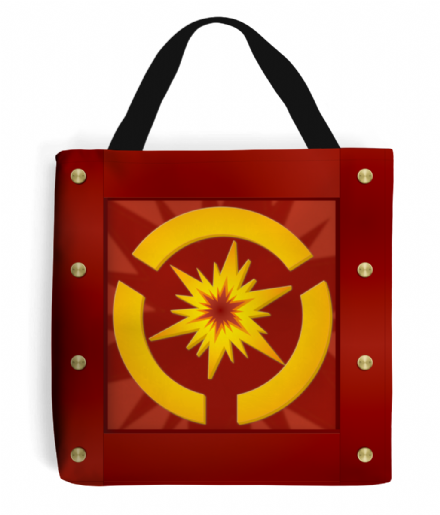 Ratchet and Clank Explosive Crate Design Tote Bag Handbag